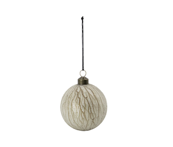 House Doctor Glass Bauble Chosen Gold