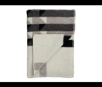 Roros Tweed Kvam Plaid Greyscale 135/200