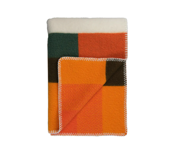 Roros Tweed Mikkel Plaid Orange 135/200
