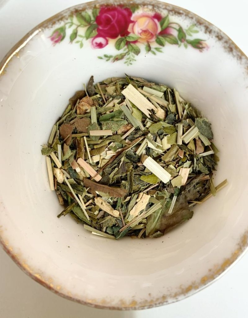 Jess' Detox, een verfrissende groene thee, die je laat stralen van energie