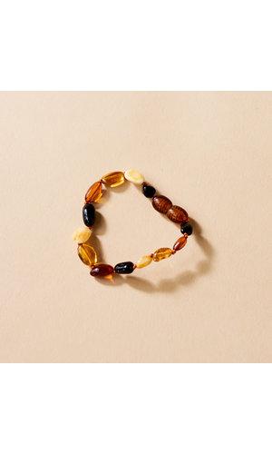 Amber Bracelet - Honey Bean 14 cm