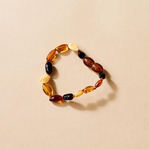 Moonsisters Amber Bracelet - Honey Bean 14 cm