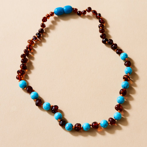 Moonsisters Amber Necklace - Shooting Stars 32 cm