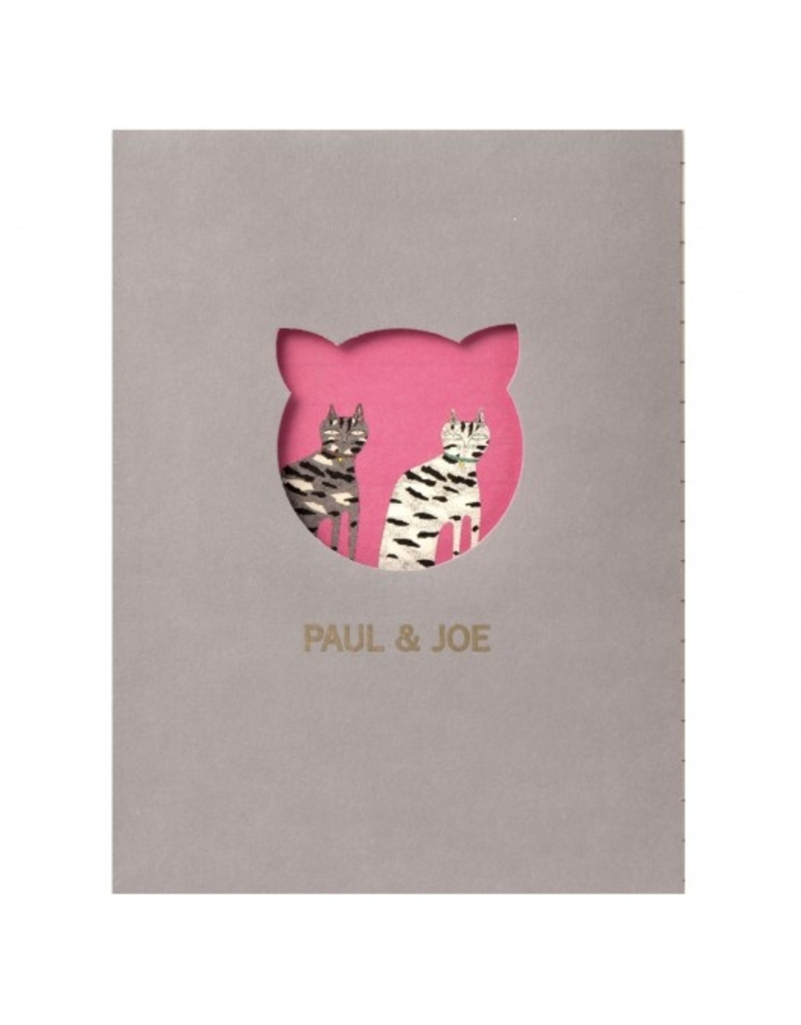 Paul & Joe PAUL & JOE - Notebook A6 - getekende kat donkerroze