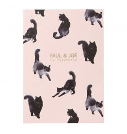 Paul & Joe PAUL & JOE - Notebook A6 - lichtroze zwarte kat