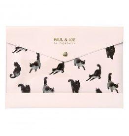 Paul & Joe Paul & Joe - Etui lichtroze Zwarte kat