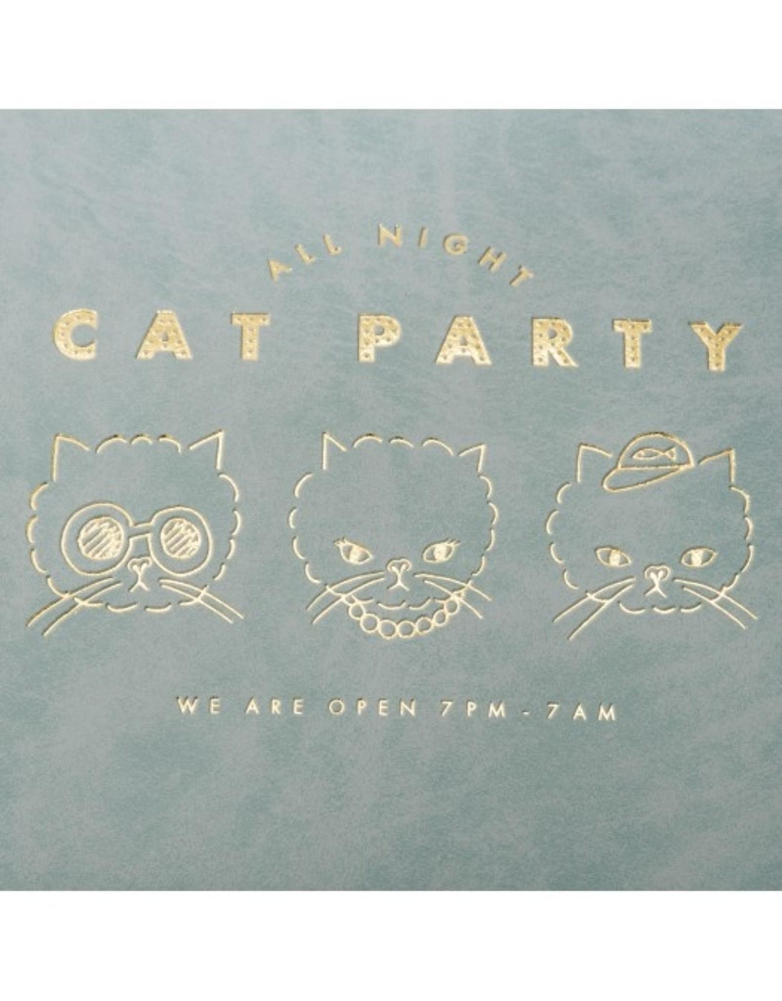 Mark's Tokyo Edge Mark's - All Night etui groot, Cat - Grijs flat pouch