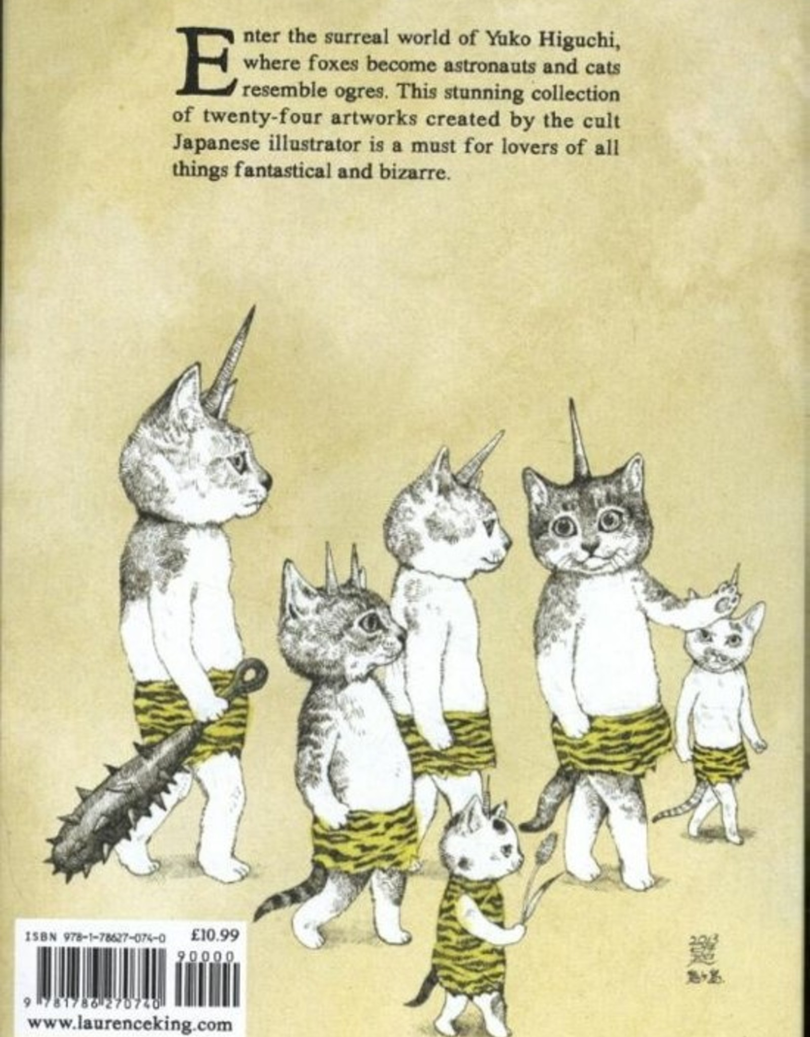 Laurence King Yuko Higuchi's Cats & Other Creatures
