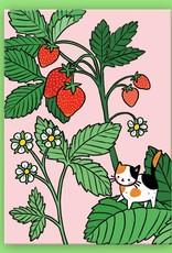 Pony People Pony people - kaart  strawberry kitty