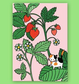 Pony People Pony people - kaart strawberry kitty