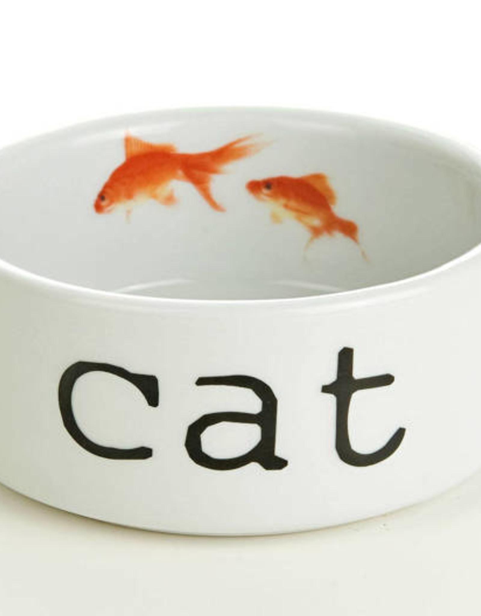 Beeztees Beeztees Eetbakje keramiek - VIS/CAT