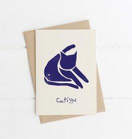 Niaski Niaski - Catisse Blue Cat - kaart