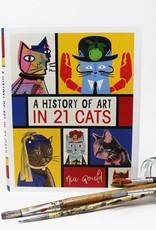 Niaski Niaski - A History of Art in 21 Cats boek