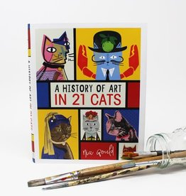 Niaski Niaski - A History of Art in 21 Cats boek
