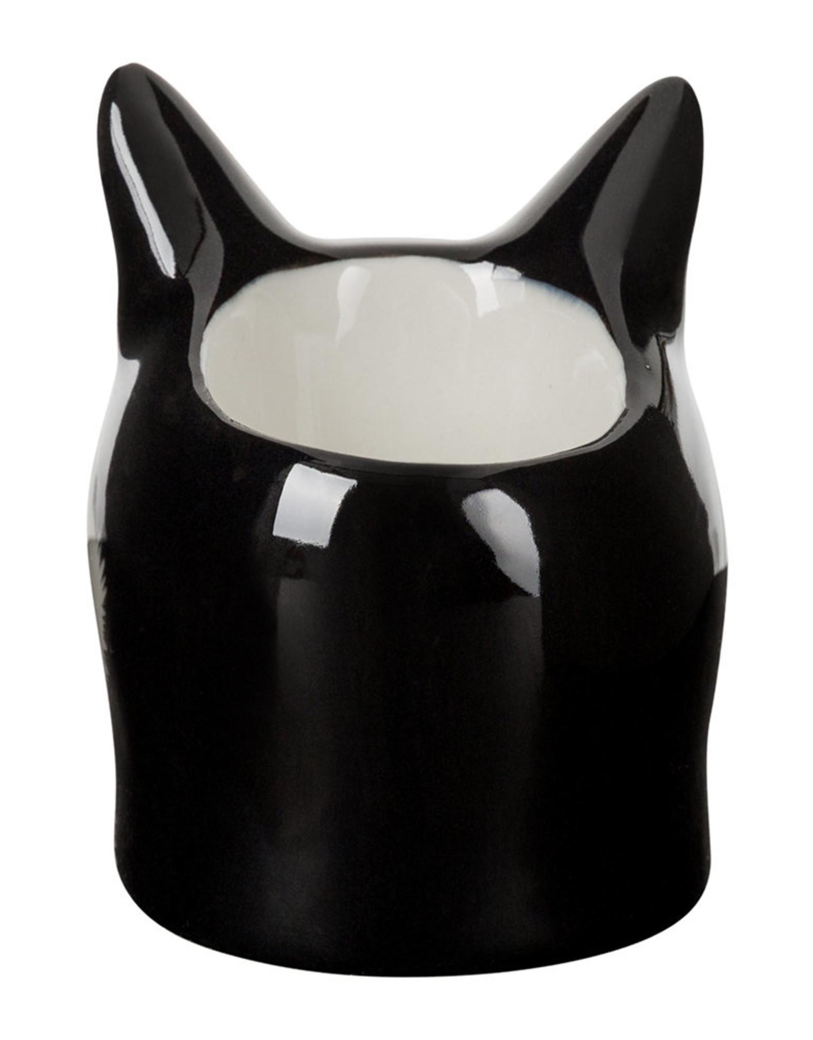 Quail Ceramics Quail Barney Face Egg Cup (tux) - Klein