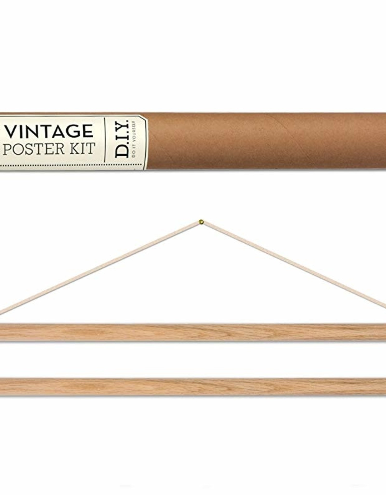 Cavallini Papers Cavallini Papers poster hang kit hout horizontaal