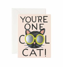 Rifle Paper Co. Rifle Paper Co. Kaart - Cool Cat Card
