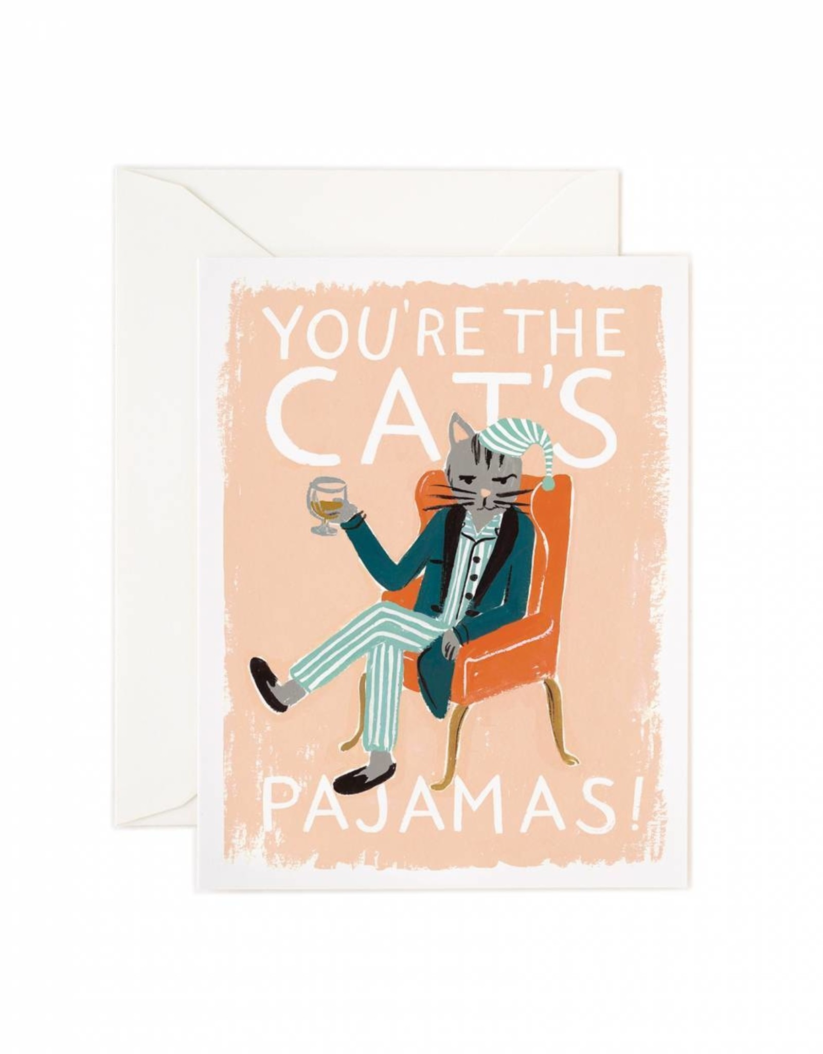 Rifle Paper Co. Rifle Paper Co. Kaart - You're the cat's pajamas