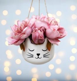 Sass & Belle Sass & Belle Cat's Whiskers plantenhanger wit