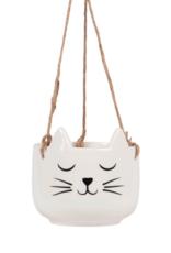 Sass & Belle Sass & Belle Cat's Whiskers planten hanger wit