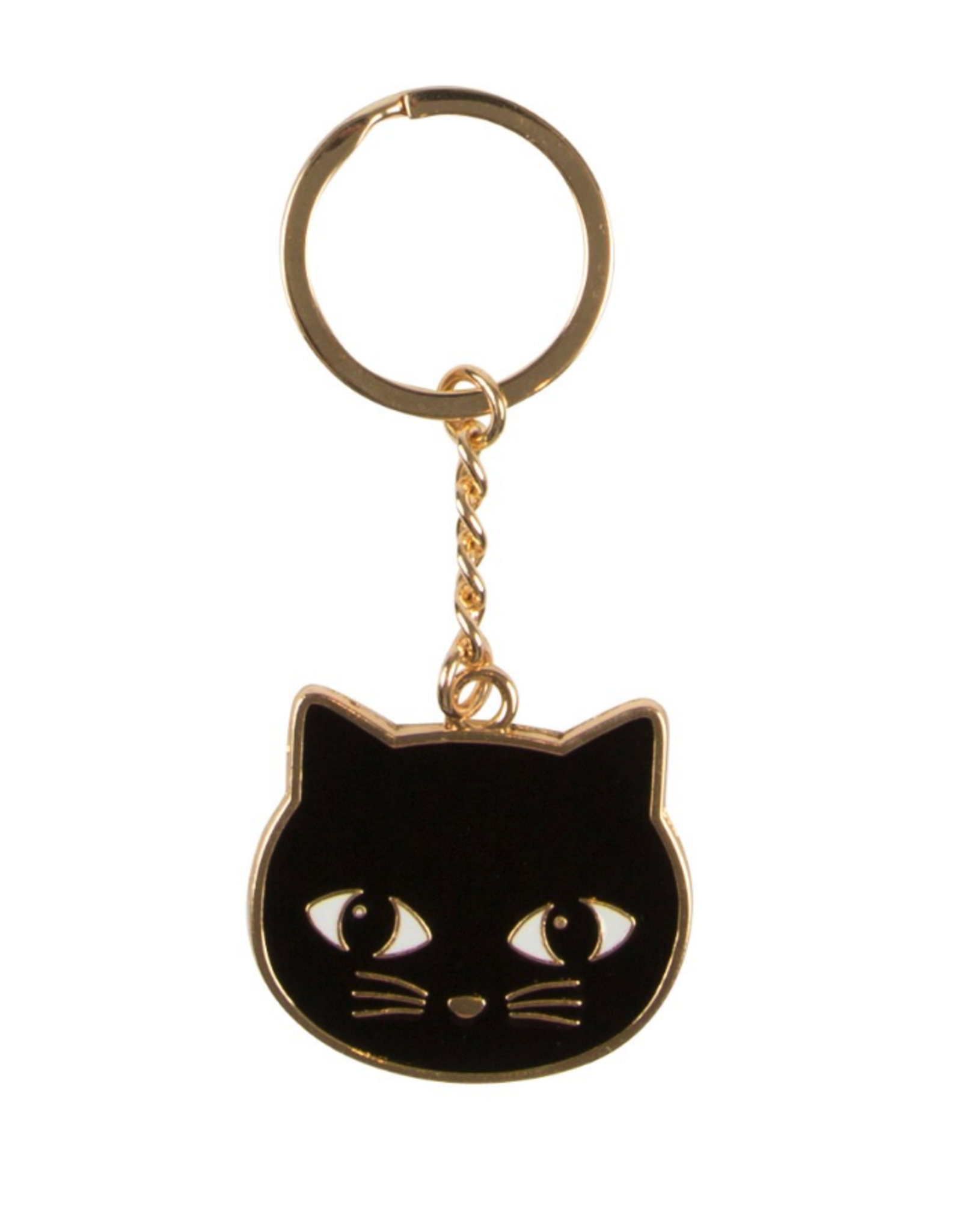 Sass & Belle Sass & Belle Zwarte kat sleutelhanger