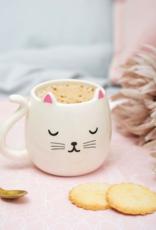 Sass & Belle Sass & Belle Cutie cat shaped mok