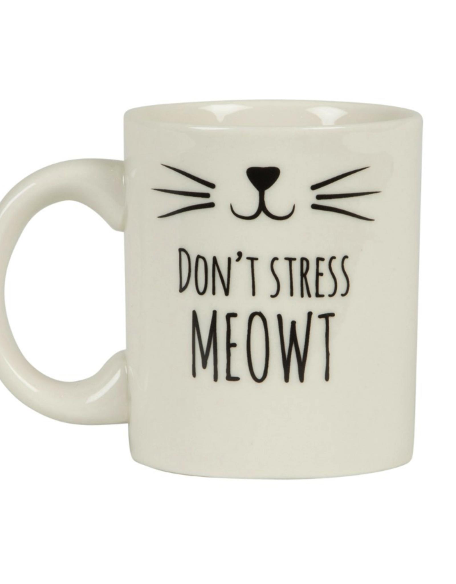 Sass & Belle Sass & Belle Cat's Whiksers don't stress meowt mok