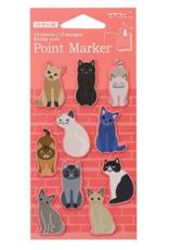 Midori Midori Point Marker S Cats