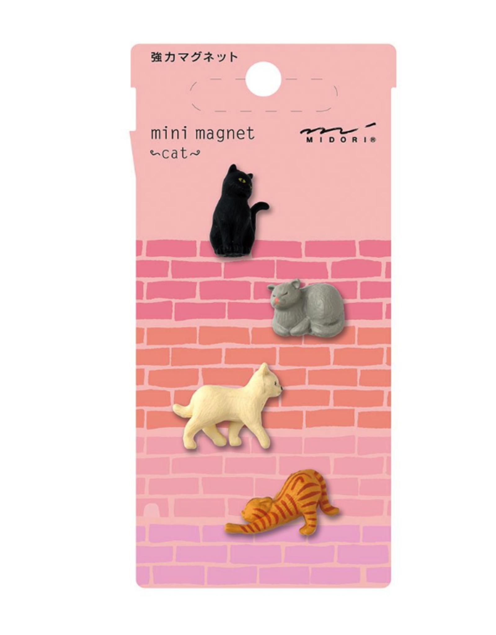 Midori Midori Mini magneetjes - cat
