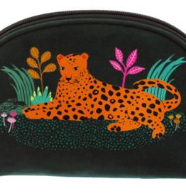 Sass & Belle Sass & Belle - Leopard make-up tasje