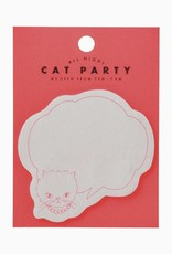 Mark's Tokyo Edge Mark's Sticky notes, cat party - roze