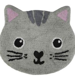 Sass & Belle Sass & Belle - nori cat rug grey