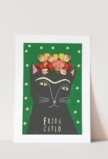 Niaski Niaski - Frida Catlo print