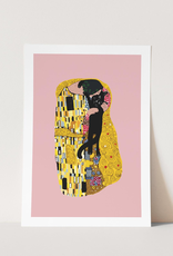 Niaski Niaski print A4 - the cat kiss