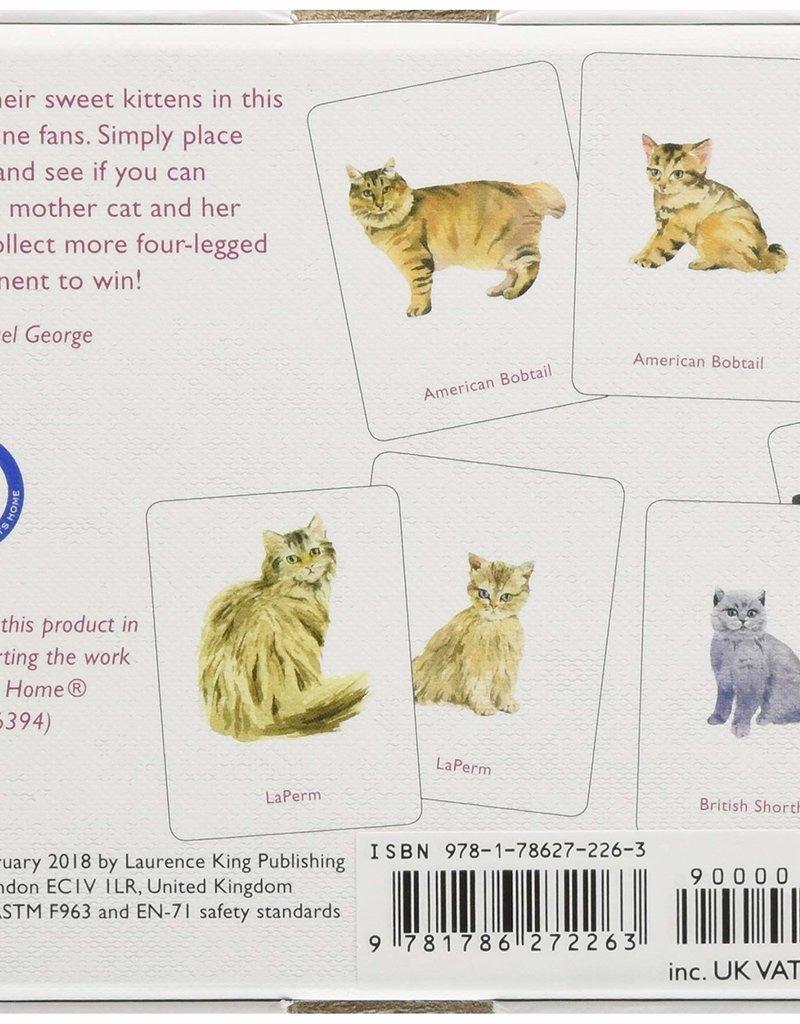 Laurence King Laurence King - Cats & Kittens Memory engelstalig