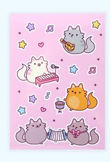 We Are Extinct We are extinct Musical cats- sticker sheet