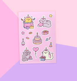 We Are Extinct We are extinct Birthday cats - Sticker sheet
