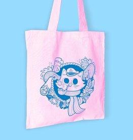 We Are Extinct We are extinct Sailor cat - tote bag roze