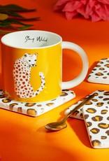 Sass & Belle Sass & Belle - Leopard coasters set