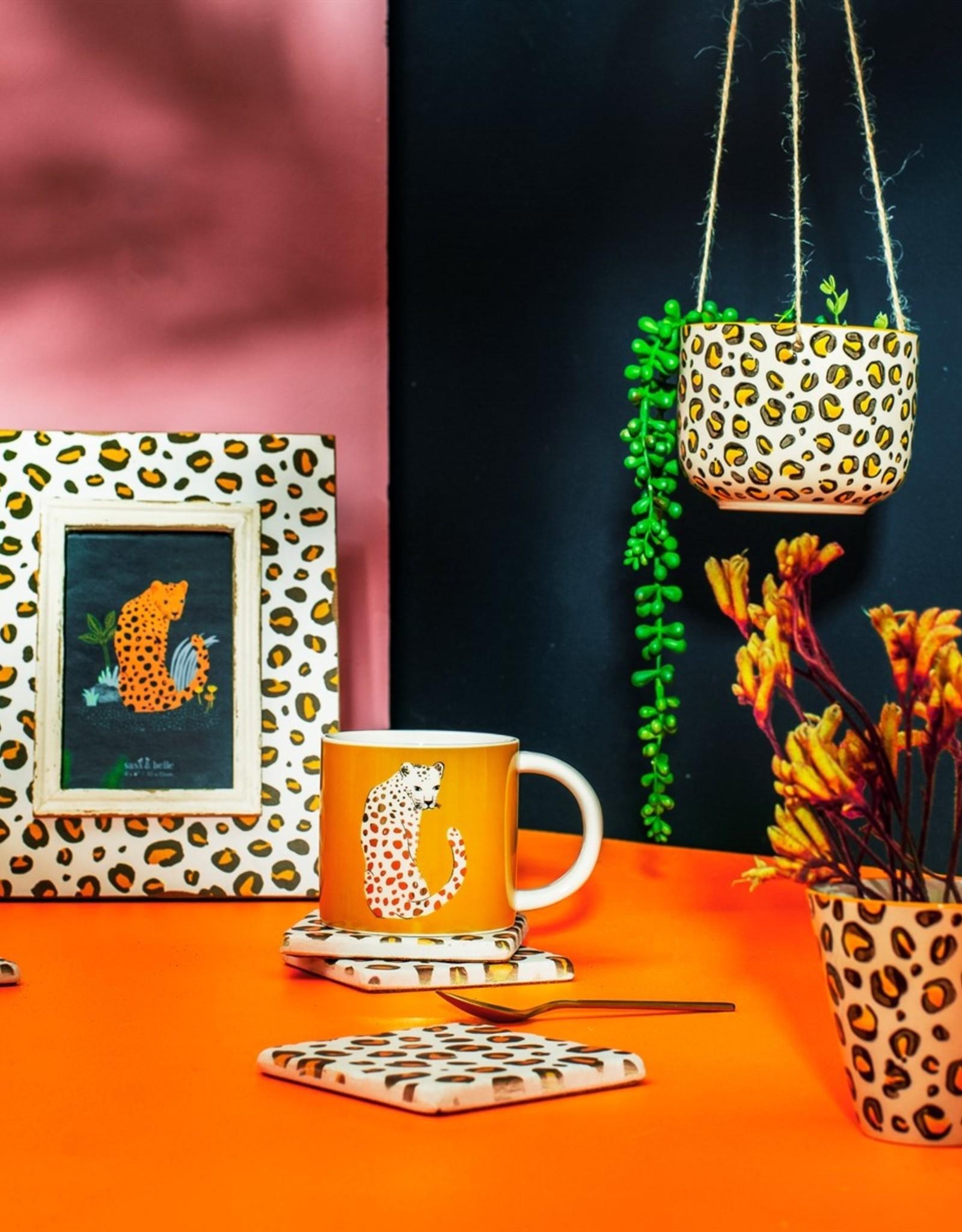 Sass & Belle Sass & Belle - Leopard Hanging Planter
