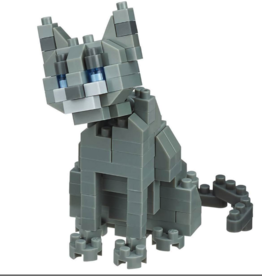 Nanoblock Nanoblock Mini series cat breed - Russian Blue