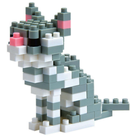 Nanoblock Nanoblock Mini series cat breed - American shorthair