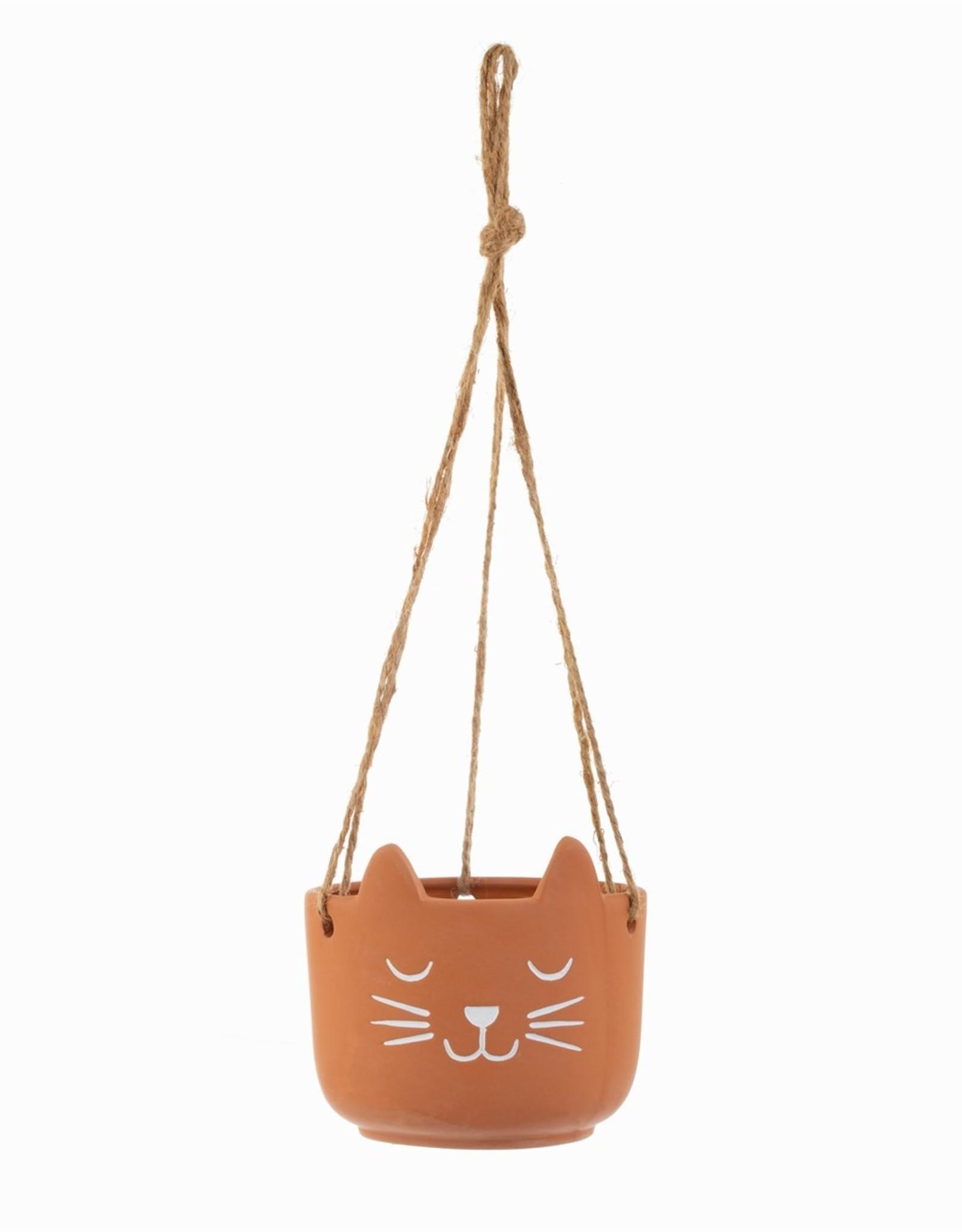 Sass & Belle Sass & Belle Cat's Whiskers terracotta planten hanger