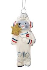 Sass & Belle Cat Astronaut Shaped Bauble