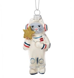 Sass & Belle Sass & Belle Cat Astronaut Shaped Bauble
