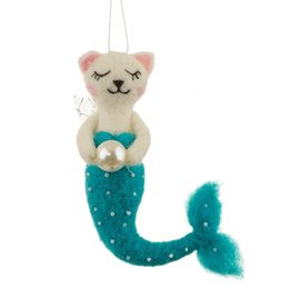 Sass & Belle Sass & Belle cat purrmaid felt hanging decoration