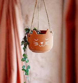 Sass & Belle Sass & Belle Cat's Whiskers terracotta plant hanger