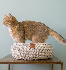 Sunny Baskets Handgemaakte Kattenmand - Beige S