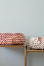 Sunny Baskets handgehaakte kattenmand - Beige L