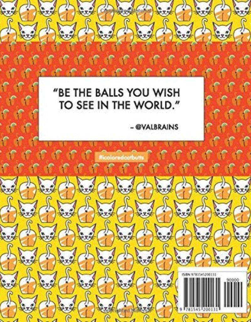 Valbrains Valbrains - Cat Butt Coloring Book